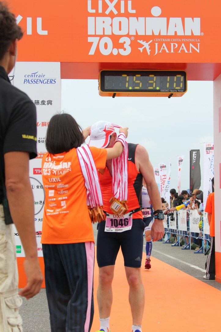 Medal Half ironman japan